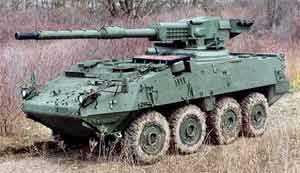 More Automatic Ammunition-Handling on Stryker for Meggitt