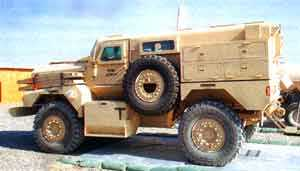 Force Protection Rolls Out First Ridgback Vehicles for the British Ministry of Defence