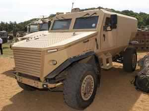 UK MoD Signs On for 200 Force Protection Ocelot Vehicles