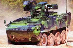 Steyr-led team completes first 17 Pandur II vehicles within contract requirements