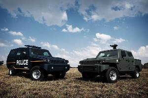 Paramount Group launches Marauder Patrol, a highly protected utility vehicle