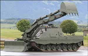 Kodiak Armoured Engineer Vehicle