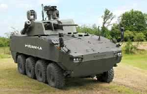 General Dynamics European Land Systems presents the new PIRANHA Class 5 and the DONAR at IDEX 2011