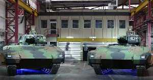 Serial Start for New PUMA Infantry Fighting Vehicle