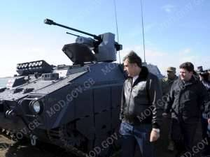 Lazika IFV has been unveiled at the Vasiani, Georgia