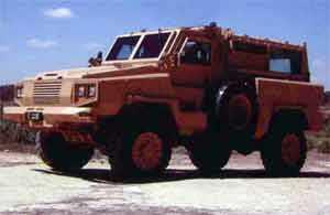 RG-31 vehicle