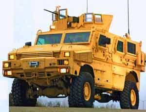 BAE Systems Awarded $53 Million From U.S. Marine Corps for MRAP Work