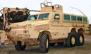 US Marine Corps Orders 40 RG-33 6x6 Mine Resistant Ambush Protected Vehicles