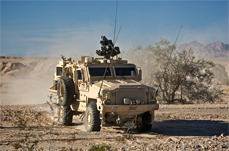 The SOCOM MRAP is based on the RG33 family of vehicles