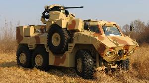 BAE Debuts Latest RG35 Mult-Role Fighting Vehicle