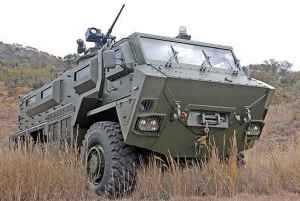 RG35 Mine Protected multi-purpose fighting vehicle