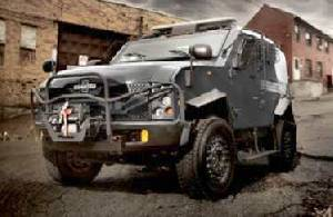 Oshkosh Defense Introduces SandCat Tactical Protector Vehicle in Latin America at LAAD 2011
