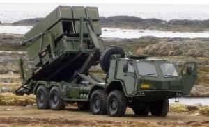 SISU 8x8 Launcher Vehicle on duty at Andoya