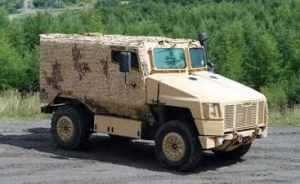 Supacat SPV400 Lightweight Protected Patrol Vehicle