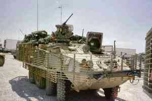 US Army Prepares Strykers for Reset in US