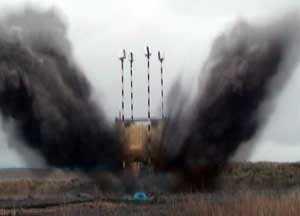 Supacat SPV400 undergoes blast testing