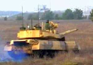 T-55AGM tank fitted with Garant system