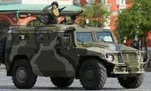 Russia to supply some 100 armoured police vehicles to China