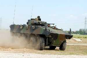 VBCI armoured vehicle