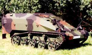 Wiesel 2 UF/BF Command vehicle