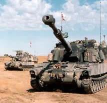 Amazon.com: M109A6 Paladin Self-propelled artillery (Plastic model ...