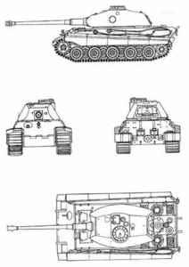 """Помимо этого существовал проект  """"маленького тигра """" с облегченной броней, но дальнейшего продолжения проект не получил."""