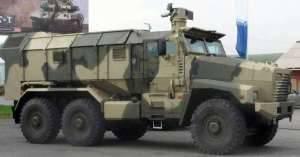 Бронированный автомобиль «Урал» с высоким уровнем противопульной и противоминной защиты от НИИ Стали