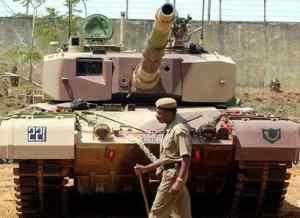 Индийский танк Arjun