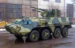 Министерство обороны Украины приняло на вооружение бронетранспортер БТР-4Е