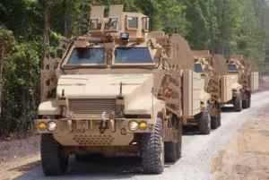 BAE Systems модернизировала защиту 500 машин MRAP Caiman
