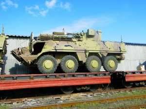 Первая партия бронетранспортеров БТР-4 отправлена в Ирак