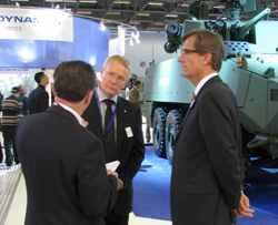 Успешная презентация нового модуля MC PROTECTOR RWS на Eurosatory 2010