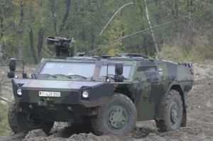 Фирма KMW поставила 10 машин FENNEK германским вооруженным силам