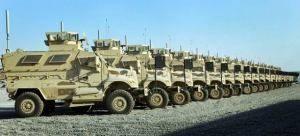 Армия США уточняет долгосрочные планы в отношении MRAP