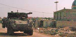 Проблемы с мобильной орудийной системой (MGS) Stryker