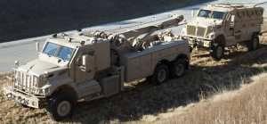 Navistar Defense получает второй заказ на ремонтные машины MRAP