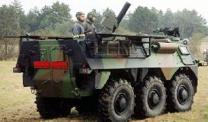 120-мм минометный комплекс 2R2M на VAB 6x6