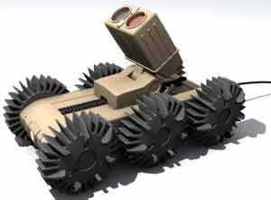 Робот Spyrobot с колесной формулой 6x6