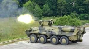 На BRIDEX 2011 были успешно продемонстрированы стрельбы из БТР-3Е1 и противотанкового ракетного комплекса «Стугна-П»