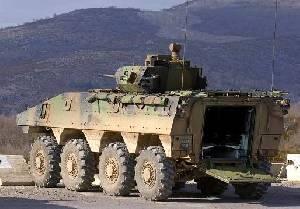 Французская колесная боевая бронированная машина VBCI