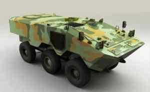 Новая боевая машина фирмы Iveco представлена на выставке LAAD 2009
