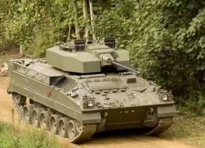 Боевая машина пехоты Warrior с улучшенной башней и новой 40-мм пушкой