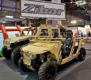 Тактические боевые машины на выставке ISDEF 2013