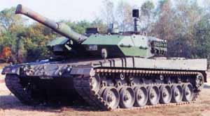 Испытания системы MUSS на Leopard 2