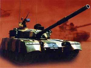 Китайский танк МБТ-2000