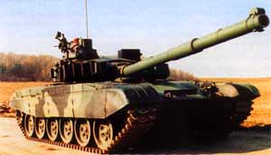 Модернизированный танк T-72M4 CZ