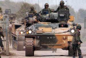 Модернизированная БМП Warrior