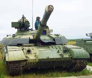 Модернизированный танк БМ Булат