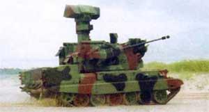 Самоходная зенитная установка Loara PZA
