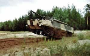 17 боевых машин пехоты БМП-3 были поставлены в Южную Корею